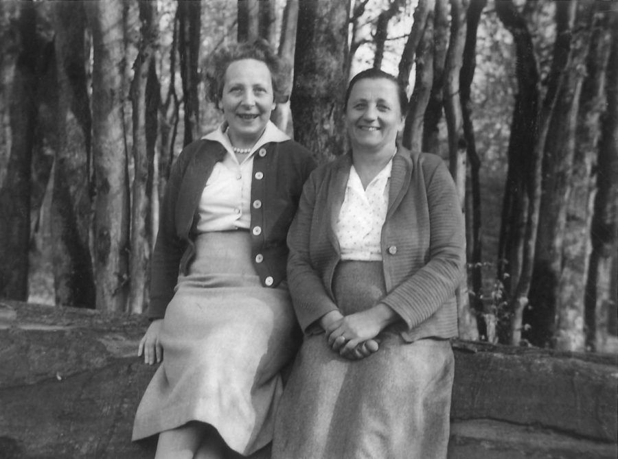 Marie-Élisa Nordman-Cohen et Germaine Renaudin. © Collection familiale
