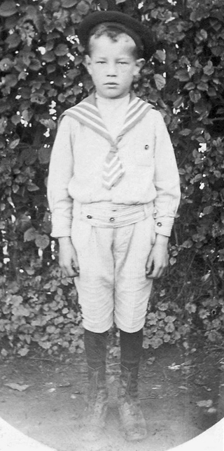Roland Soyer enfant. © Collection Michel Winkel, son neveu.